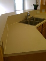 custom build laminate counter top